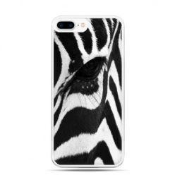 Etui na telefon iPhone 7 Plus - zebra