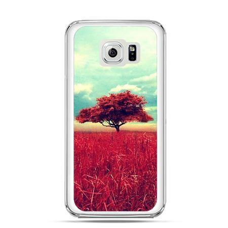 Etui na Galaxy S6 Edge Plus - czerwone drzewo
