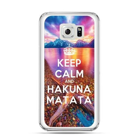Etui na Galaxy S6 Edge Plus - Keep Calm and Hakuna Matata