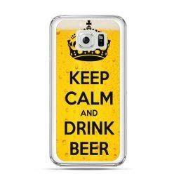 Etui na Galaxy S6 Edge Plus - Keep calm and drink beer