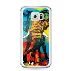 Etui na Galaxy S6 Edge Plus - kolorowy słoń