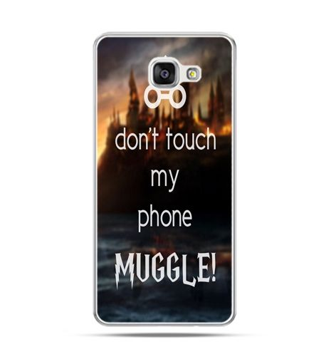 Etui na Samsung Galaxy A3 (2016) A310 - Don`t touch ..Muggle harry Potter