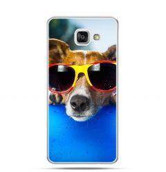 Etui na Samsung Galaxy A3 (2016) A310 - pies w kolorowych okularach