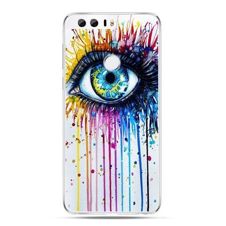 Etui na Huawei Honor 8 - kolorowe oko