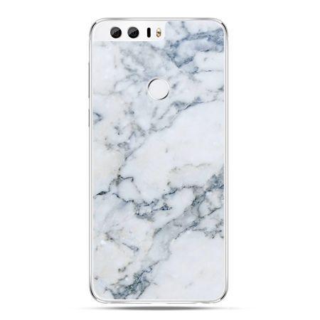 Etui na Huawei Honor 8 - biały marmur