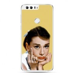 Etui na Huawei Honor 8 - Audrey Hepburn Fuck You