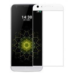LG G5 - Hartowane szkło na cały ekran 3d - biały