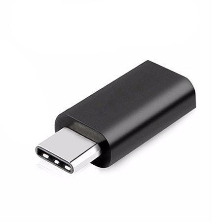 Adapter na kabel Micro-USB do Typ-C - czarny.
