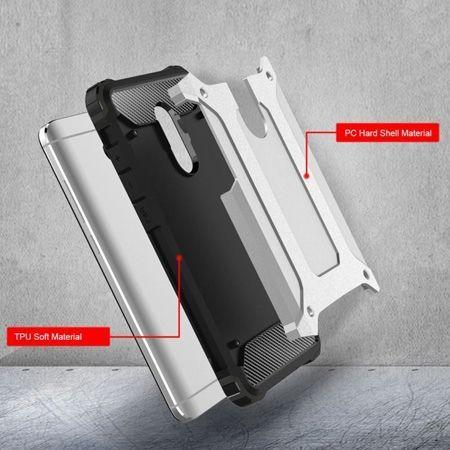 Pancerne etui na Xiaomi Redmi Note 4 - srebrny.