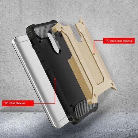 Pancerne etui na Xiaomi Redmi Note 4 - złoty.