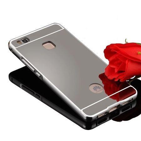 Mirror bumper case na Huawei P9 Lite - Srebrny