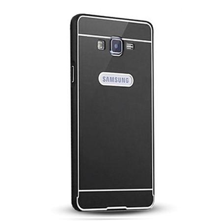 Galaxy Grand Prime etui aluminium bumper case - czarny.