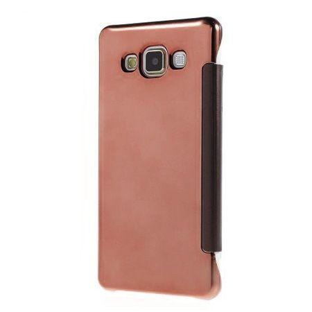 Samsung Galaxy A5 etui Flip Clear View mirror z klapką - różowy.