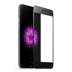 Hartowane szkło na cały ekran 3d iPhone 6 plus / 6s Plus - czarny.