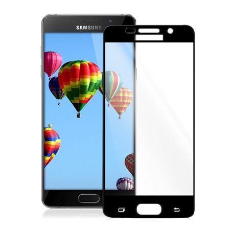 Hartowane szkło na Samsung Galaxy A5 2016 cały ekran 3d  - czarny.