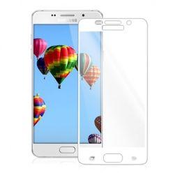 Hartowane szkło na cały ekran 3d Galaxy A5 2016 - biały.