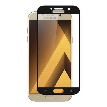 Hartowane szkło na cały ekran 3d Galaxy A5 2017 - czarny.
