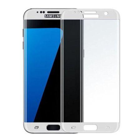 Hartowane szkło na cały ekran 3d Galaxy S7 Edge - biały.