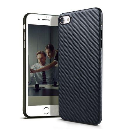 iPhone 5 / 5s etui silikonowe Slim TPU Carbon.