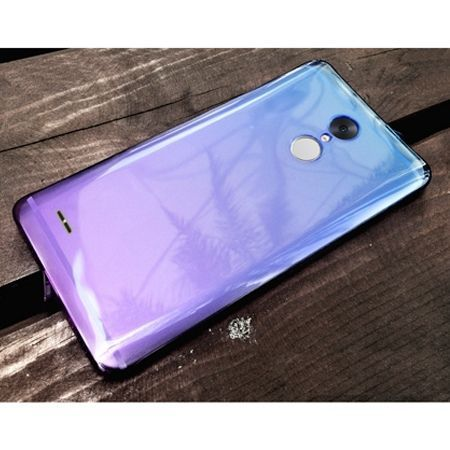 LG K10 2017 silikonowe etui ultra slim Ombre.