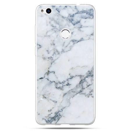 Etui na Huawei P9 Lite 2017 - biały marmur