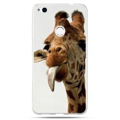Etui na Huawei P9 Lite 2017 - żyrafa z językiem