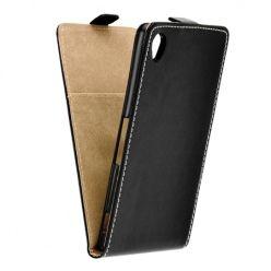 Etui na telefon Sony Xperia XA - kabura z klapką - czarny