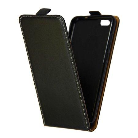 Etui na telefon Xiaomi Mi 5 - kabura z klapką - czarny