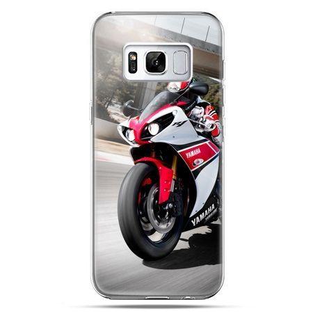 Etui na telefon Samsung Galaxy S8 - motocykl ścigacz