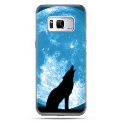 Etui na telefon Samsung Galaxy S8 - Wilk nocny