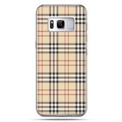 Etui na telefon Samsung Galaxy S8 - kratka Burberry