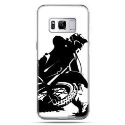 Etui na telefon Samsung Galaxy S8 - motocykl cross