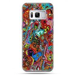Etui na telefon Samsung Galaxy S8 - kolorowy chaos