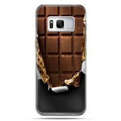 Etui na telefon Samsung Galaxy S8 - czekolada