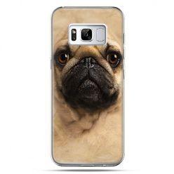 Etui na telefon Samsung Galaxy S8 - pies szczeniak Face 3d