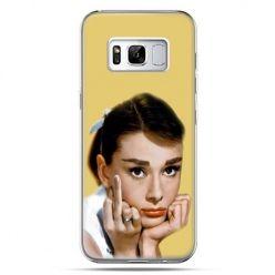 Etui na telefon Samsung Galaxy S8 Plus - Audrey Hepburn Fuck You