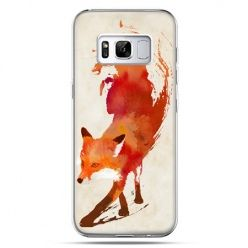 Etui na telefon Samsung Galaxy S8 Plus - lis watercolor
