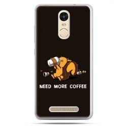 Etui na Xiaomi Redmi Note 3 - Kawa Need more