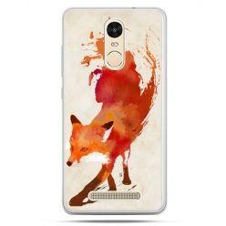 Etui na Xiaomi Redmi Note 3 - lis watercolor