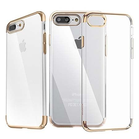 Etui na telefon iPhone 7 Plus  -  Baseus Platina - złoty.