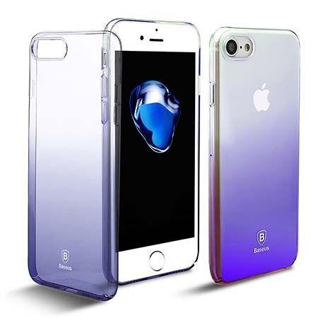 Etui na telefon iPhone 7 - Baseus Aurora - czarny.