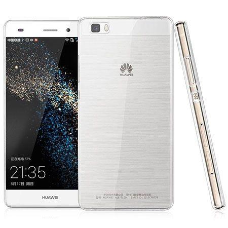 Etui na Huawei P8 silikonowe,  przezroczyste crystal case.