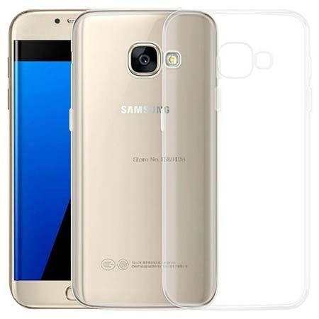 Etui na Galaxy A5 2017 silikonowe crystal clear - bezbarwne.