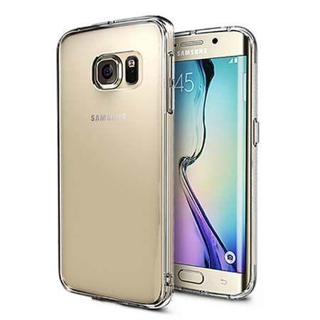 Etui na Galaxy S6 Edge silikonowe crystal clear - bezbarwne.