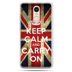 Etui na Xiaomi Redmi Note 4 - Keep calm and carry on