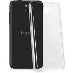 Etui na HTC Desire 610 silikonowe crystal case - bezbarwne.