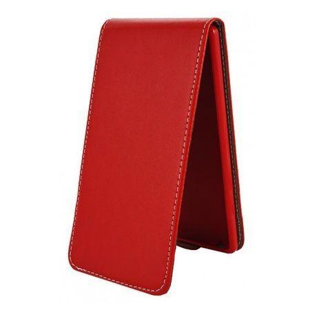 Etui na telefon Huawei P8 Lite - kabura z klapką - czerwony