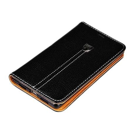 Etui na Galaxy S7 portfel z klapką na karty kredytowe - czarny. PROMOCJA!!!