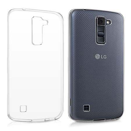 Etui na LG K10 silikonowe crystal case - Bezbarwny.