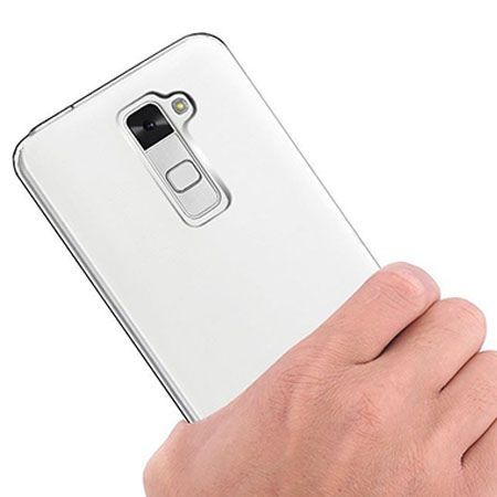 Etui na LG K8 silikonowe crystal case - bezbarwne.